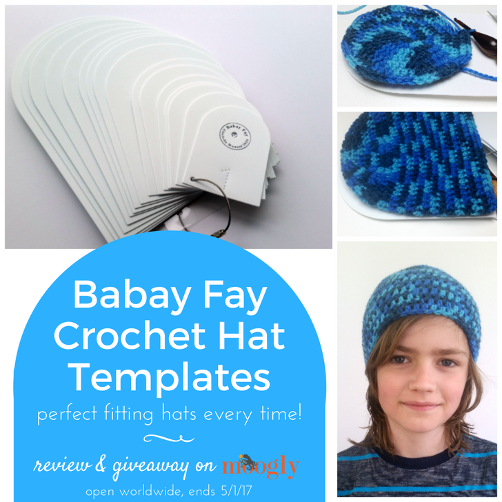 Babay Fay Crochet Hat Templates - review and giveaway on Moogly! See image and post for details!