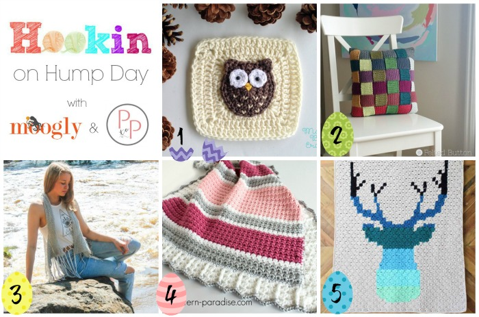 Hookin On Hump Day #140: a new collection of the very best crochet and knit projects out in the last 2 weeks! Don't miss out - see what we've collected and add your own links on Moogly or Petals to Picots!