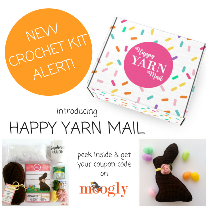 Happy Yarn Mail - the crochet subscription box you've been waiting for!