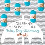 Lion Brand Vanna's Choice Rainy Day Giveaway