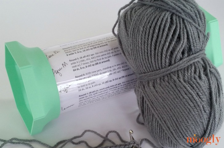 Yarn Valet Pattern Holder Plus Storage - read my review on Mooglyblog.com