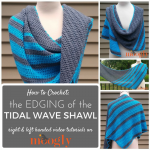Tidal Wave Shawl Edging Tutorial