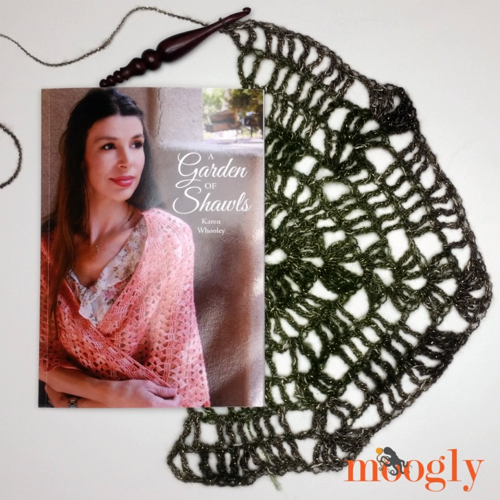 A Garden of Shawls by Karen Whooley - review and giveaway on Moogly!