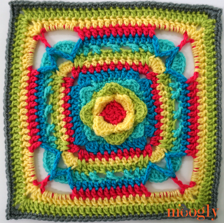 MooglyCAL2017 - Block #11, courtesy of The Stitchin' Mommy