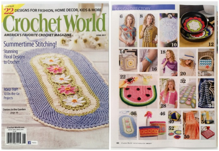 Crochet World Magazine: Home Decor and Kids Classic! Find out where to get it at Mooglyblog.com!
