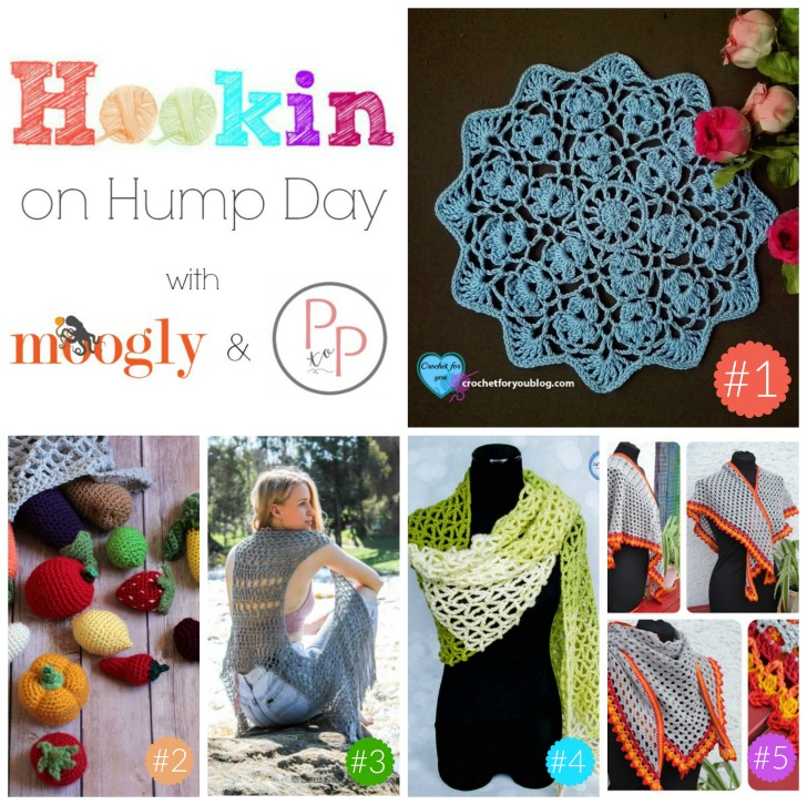Hookin On Hump Day 143 - the best of the best from around the web, with Moogly and Petals to Picots!