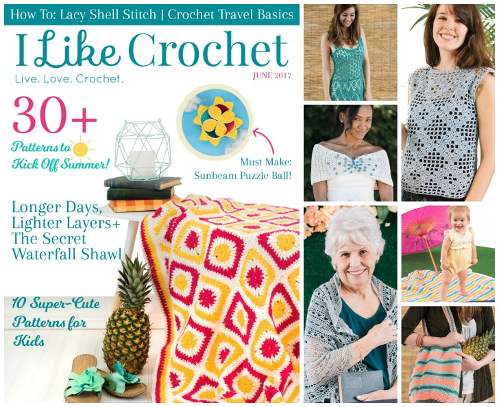 I Like Crochet magazine - beautiful and fun designs from your favorite designers! Find out where to get it at Mooglyblog.com!