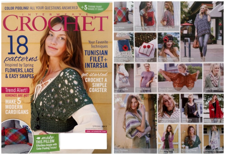 Interweave Crochet - must have subscription for high end fashion crochet! Find out where to get it at Mooglyblog.com!