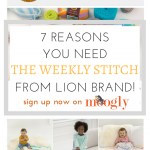 7 Reasons You Need the Weekly Stitch from Lion Brand!