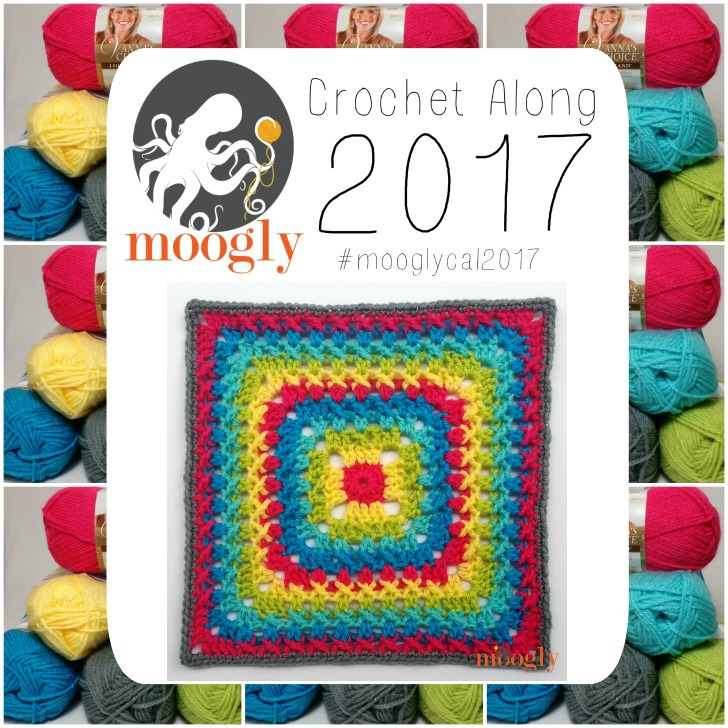 Moogly CAL 2017 Block #10, courtesy of ELK Studio! Get all the patterns FREE on Mooglyblog.com!