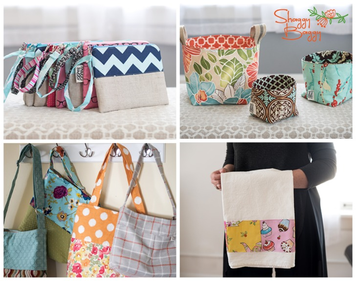 Shaggy Baggy - handmade in the USA bags, totes, pouches, and more! Read my review on Moogly!