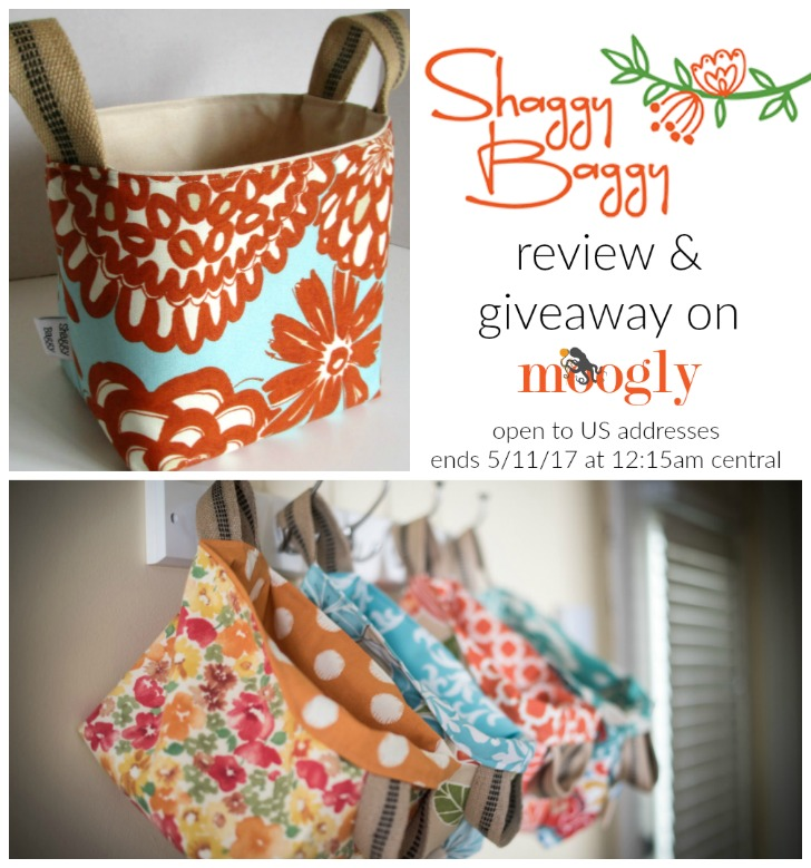 Shaggy Baggy - the perfect project tote for crochet and crafts... or whatever else you need to carry! Win one on Mooglyblog.com - open to US addresses only, ends 5/11/17 at 12:15am Central time.