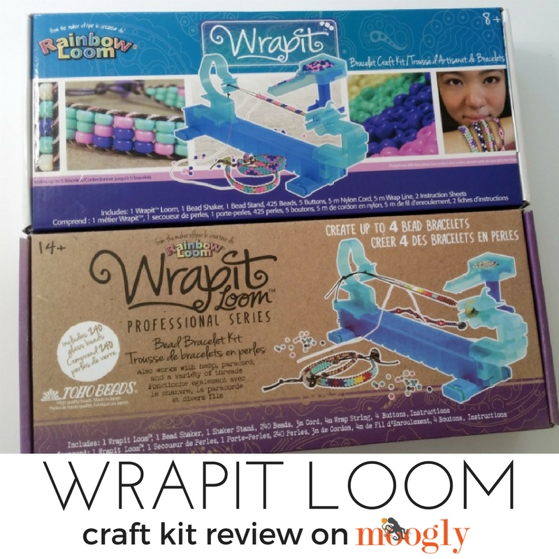 Wrapit Loom - craft kit review on Moogly!