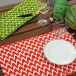 Bright Chevron Placemat
