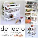 Deflecto is Perfecto for your Craft Stash-o!