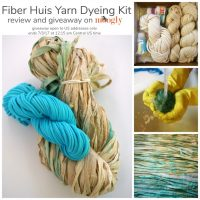Fiber Huis Yarn Dyeing Kit - review and giveaway on Mooglyblog.com! (Giveaway ends 7/3/17)