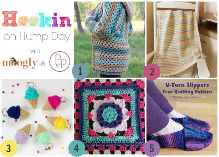 Hookin On Hump Day #144 - on Mooglyblog.com and Petals to Picots!