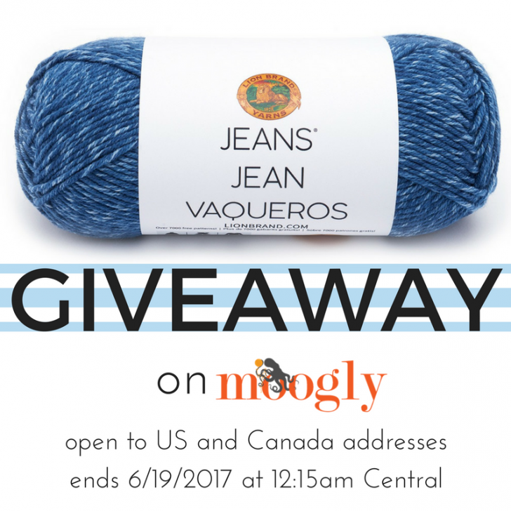 Lion Brand Jeans - Giveaway on Mooglyblog.com! Open to US and Canada, ends 6/19/17 at 12:15 am central US time