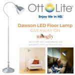 OttLite Dawson LED Floor Lamp Giveaway!