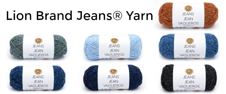 Lion Brand Jeans yarn