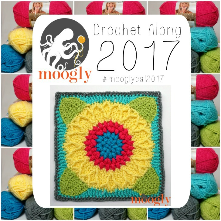 MooglyCAL2017 - Block #16 by Laurinda Reddig of ReCrochetions! Free CAL on Moogly!