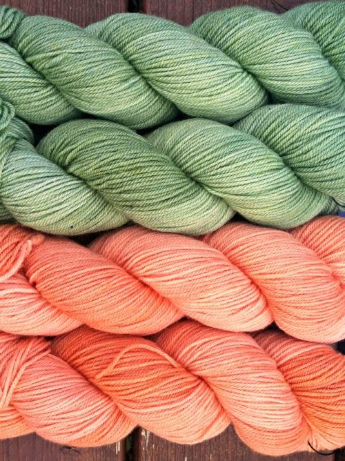 Ficstitches Yarns - colors for the Fall 2017 Kit!