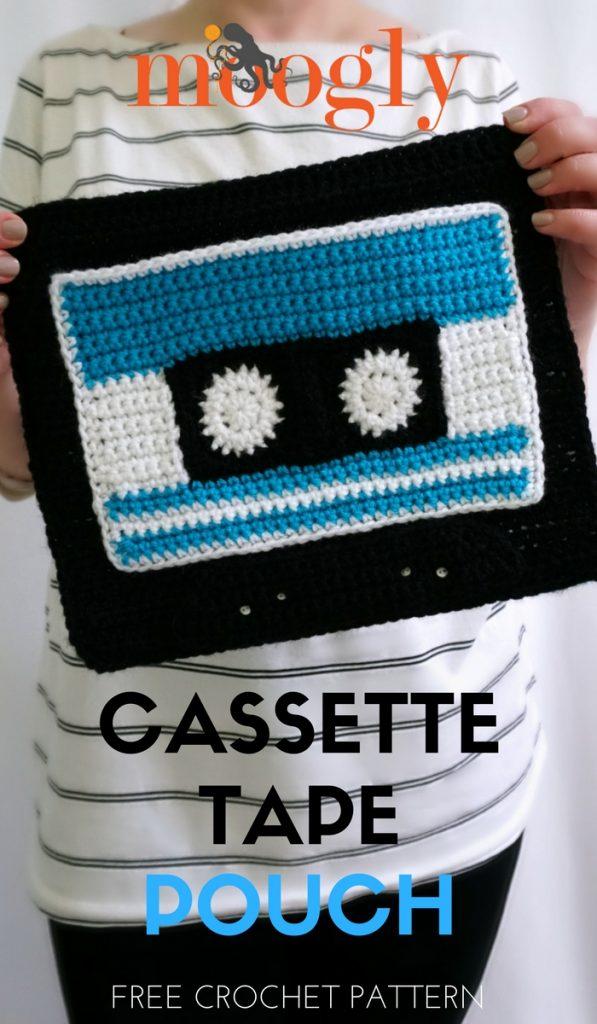 Cassette Tape Pouch Moogly