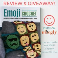 Emoji Crochet by Charles Voth - Giveaway on Moogly! Open worldwide, ends 8/21/17 at 12:15am central US time.