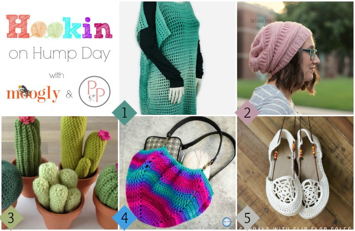Hookin On Hump Day #148  - the best yarny link party around! Get all these projects and more on Moogly!