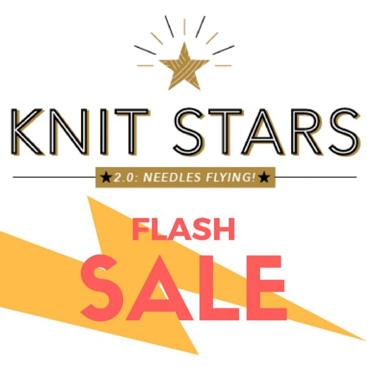Knit Stars 2.0 Flash Sale!!