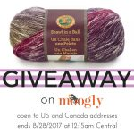 Lion Brand Shawl in a Ball August Giveaway!