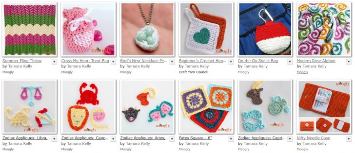 Moogly Free Crochet Patterns made with Lion Brand 24/7 Cotton!