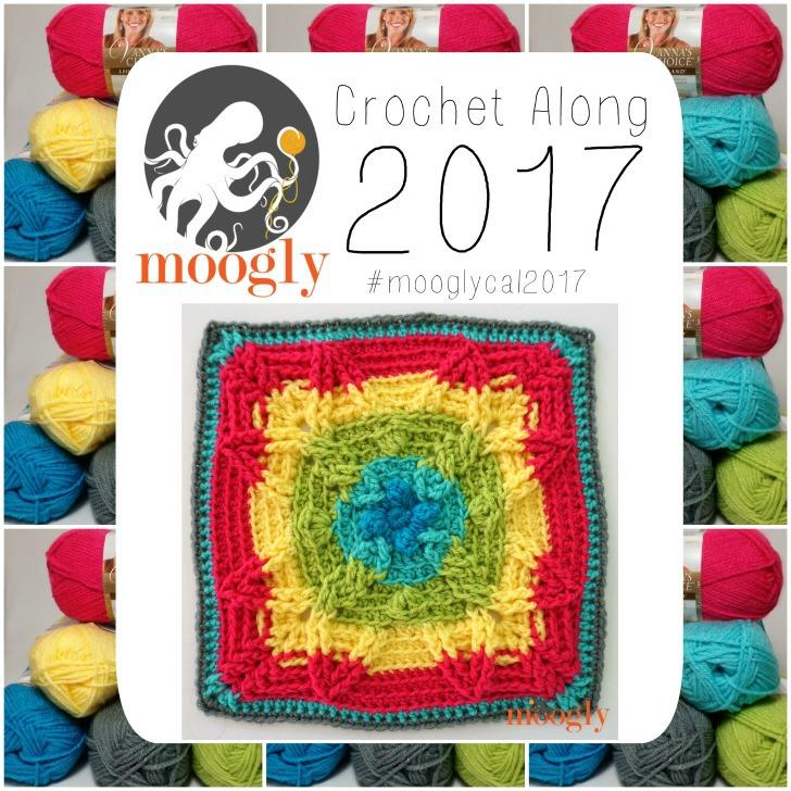 MooglyCAL2017 Block #15 - gorgeous! Courtesy of Pattern Paradise!