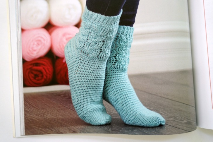 Step Into Crochet by Rohn Strong - get the book and crochet socks like a pro!