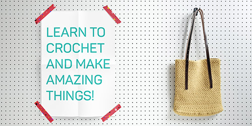 Crochet Coach, an online crochet school and community!