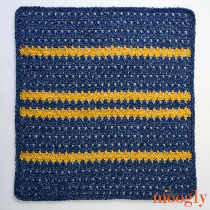 Ethan Baby Blanket - free crochet pattern on Mooglyblog.com!