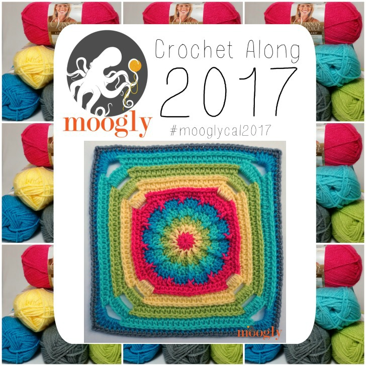 Block #18 in the 2017 Moogly CAL - free by Blackstone Designs!