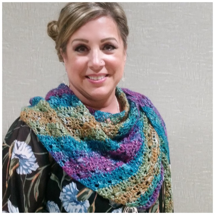 Tango Shawl - free crochet pattern on Mooglyblog.com!