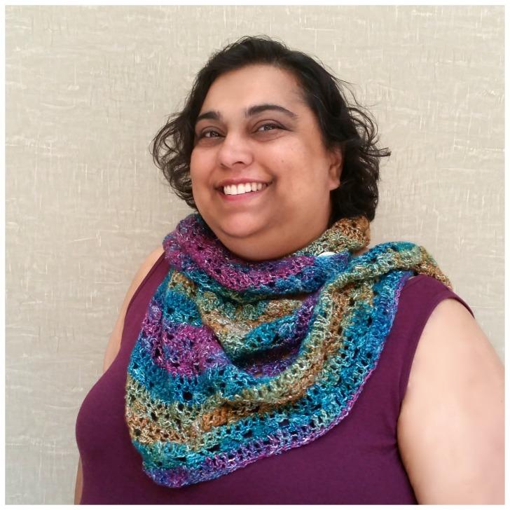 Tango Shawl - free crochet pattern on Mooglyblog.com!