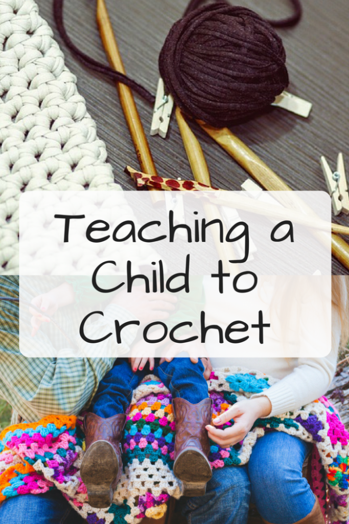 Teaching a Child to Crochet - Mooglyblog.com