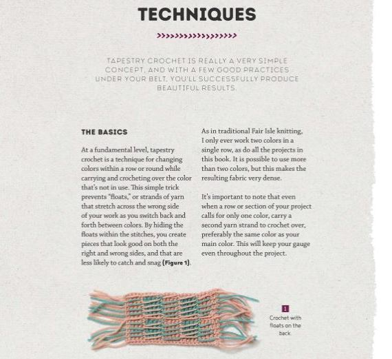 Modern Tapestry Crochet by Alessandra Hayden