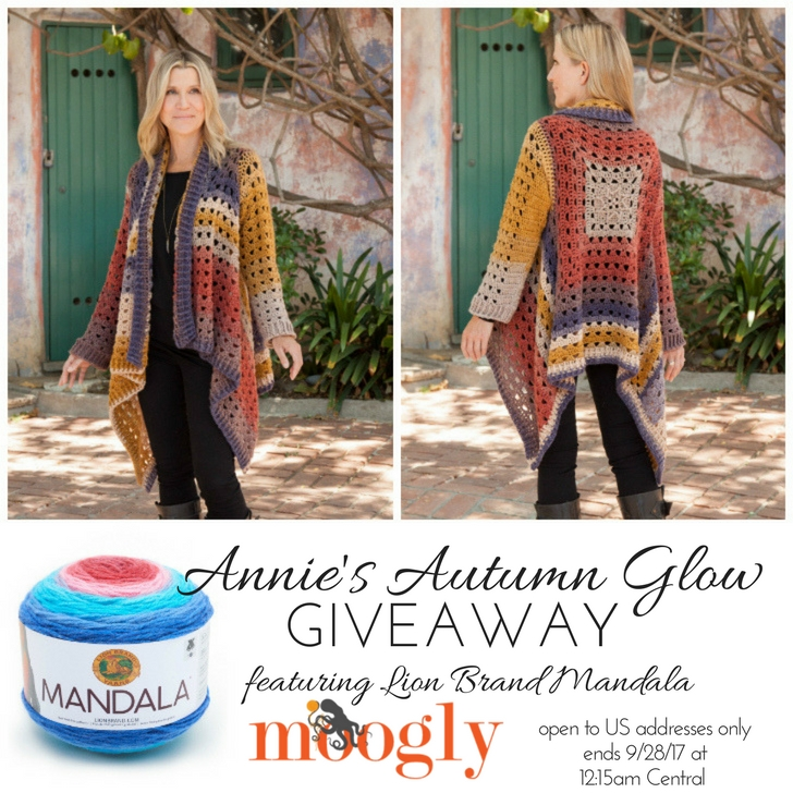 Annies Autumn Glow Collection Giveaway Moogly