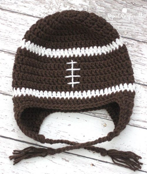 10 Free Sports Fans Crochet Patterns With Lion Brand Yarn Moogly