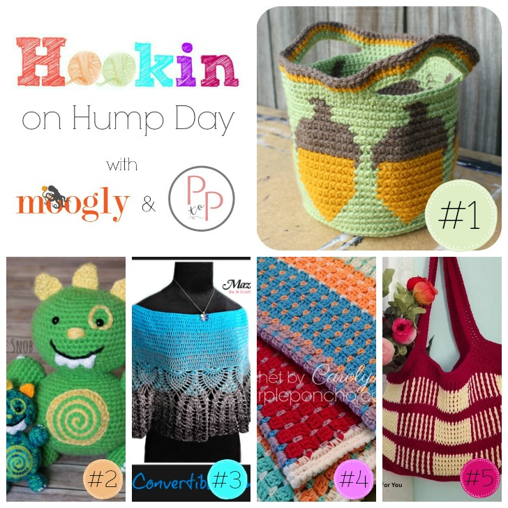 Hookin On Hump Day 151 - get all these patterns on Moogly, and add your own links for a chance to be featured!