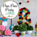 How to Throw a Pom Pom Party for Kids with Clover!