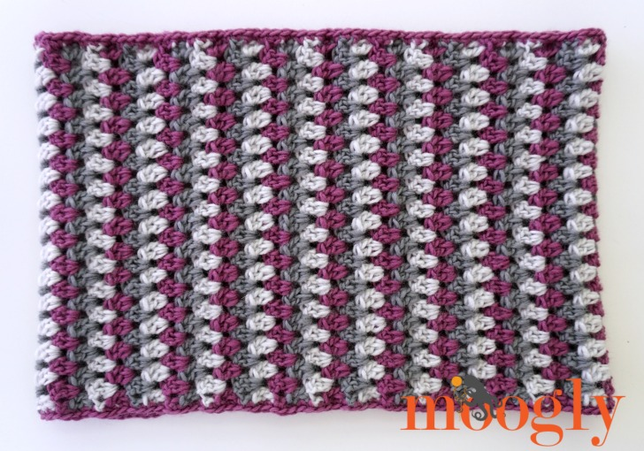 Well Dressed Cowl (and matching Well Dressed Dog Coat) - free crochet patterns on Mooglyblog.com!