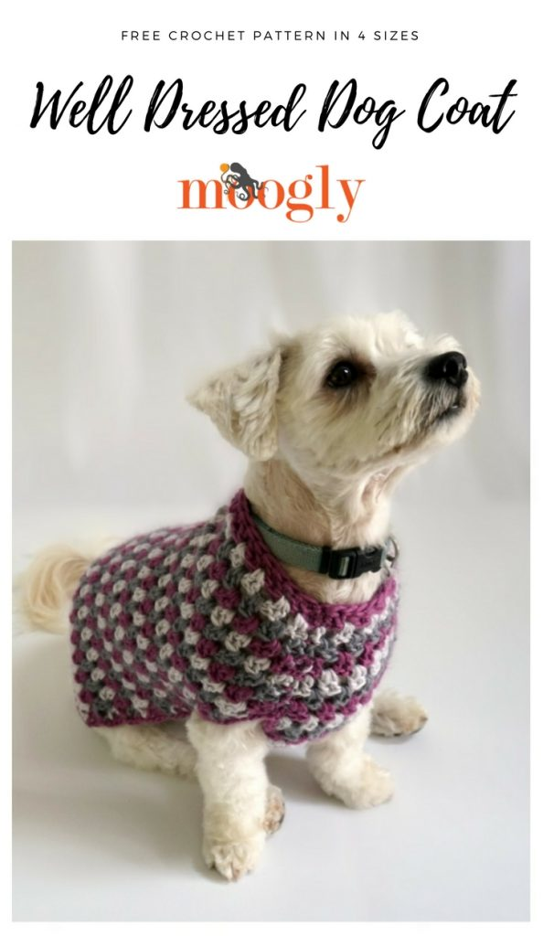 Well Dressed Dog Coat Moogly