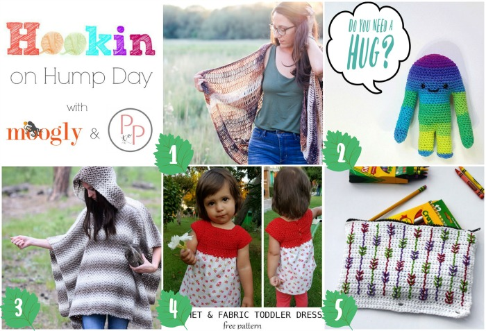 Hookin On Hump Day #150 is here - and you can get ALL these patterns FREE on Mooglyblog.com! Check them out and then add your own links to the latest version of this hot happening crochet-lovin' link party!