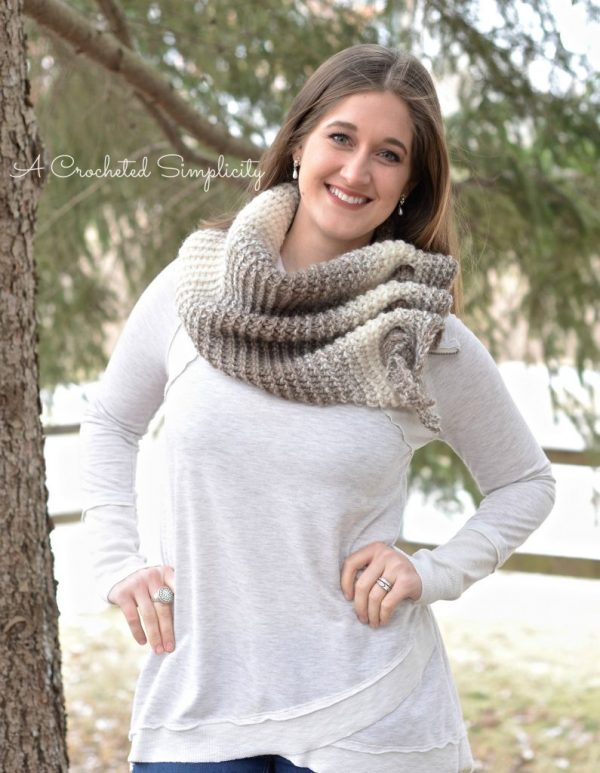 10 Free Crochet Patterns Made With Lion Brand Scarfie - moogly
