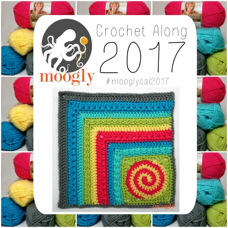 #MooglyCAL2017: Afghan Block #21 by Andee Graves!